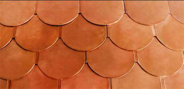 Bi-metal Roofing tiles